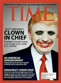 Image result for time magazine trump clown cover