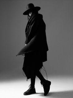 Macabre | goth | dark fashion | high end menswear | street style | obscur
