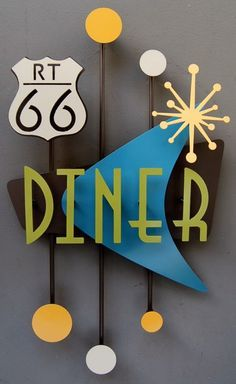 Retro Diner themed kitchen :)