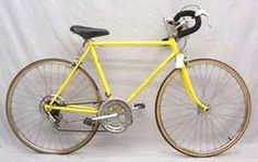 then as a teen I moved up to a 10 speed yellow bicycle