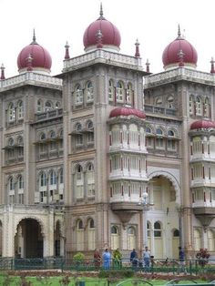 The Palace of Mysore, also known as Amba Vilas is a building complex which includes among other structures, 12 Hindu Temples.  The complex was built over a long period of time.  Once served as a palace for Indian Royalty, it has now been converted into a museum. Located in the heart of the city of Mysore in Southern INDIA.