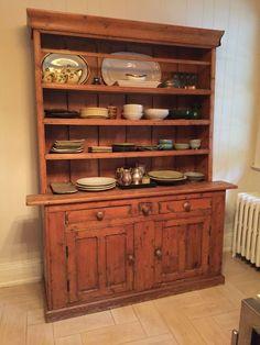 Antique Irish Hutch Buffet Sideboard | eBay