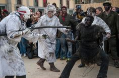 The bear festival in Prats de Mollo, France.