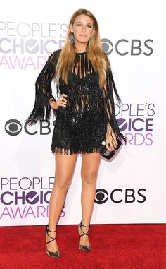 Blake Lively, 2017 People's Choice Awards