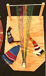 Weaving Loom, free woodworking plans,wooden,small,how to build a wooden loom frame,sampler,easy