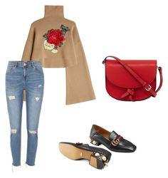 """Gucci flower"" by djamilladjamilla on Polyvore featuring mode, KC Jagger, William Fan en River Island"