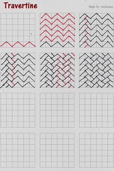 Travertine-tangle pattern. Another inspiration piece ;)