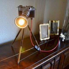 Recycled lamps diy & design ideas (22)
