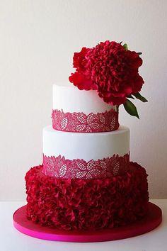 Peony colorfoul cake - Cake by  RusuPaula