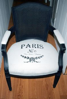 Fabric with Annie Sloan Chalk Paint