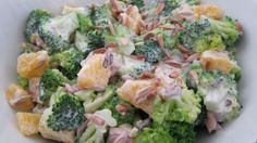 broccoli appelsinsalat