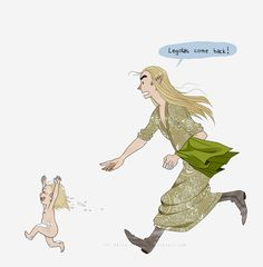 Father Troubles | by callmesnuffles.tumblr.com | Legolas | The Hobbit | Lord of the Rings