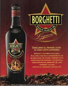 To get a bottle of Borghetti, an Italian espresso flavoured liquor.