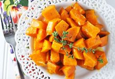 Easter Menu Ideas: Honey Apricot Roasted Sweet Potatoes Side Dish Recipe — Savor The Thyme - Food, Family and Lifestyle
