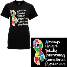 The Heart of Autism T-Shirt - Every Purchase Funds Research and Therapy to Help Children with Autism.