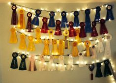 Too many show ribbons. Equestrian DIY