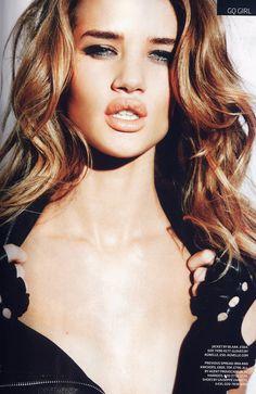 Ellen von Unwerth - Photographer Rosie Huntington Whiteley - Model Sam McKnight - Hair Stylist Ashley Ward - Makeup Artist