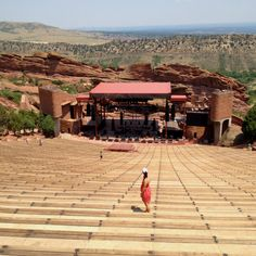 Coolest place to see a concert, Red Rocks, Colorado!!