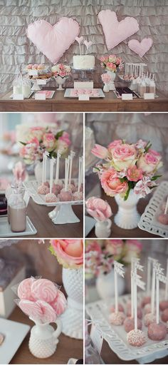 Love the balance to this Tablescape and all the details are so elegant. Milk & Cookies party theme.