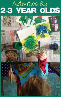 Lots of fun activities to keep preschool children entertained for hours