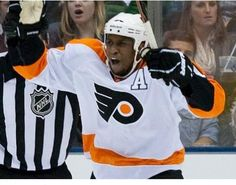 Phila Flyers' Wayne Simmonds defied expectations to become a very successful African American hockey player....