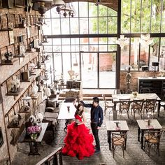 Vintage cafe #preweddingshoot by Bali Pixtura #Bali  Book your wedding photoshoot at www.onethreeonefour.com