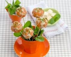 Sucettes de saumon au fromage frais Ingrédients