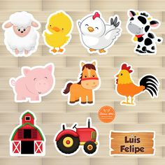 Farm Animal Birthday, Farm Birthday, Farm Animal Crafts, Farm Animals, Fun Worksheets For Kids, Kids Canvas Art, Science Experiments For Preschoolers, Farm Quilt, Diy Quiet Books