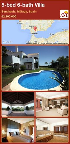 5-bed 6-bath Villa in Benahavis, Málaga, Spain ►€2,900,000 #PropertyForSaleInSpain