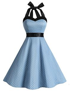 Dresstells Vintage 1950s Rockabilly Polka Dots Audrey Dre... https://www.amazon.com/dp/B01K1C9A20/ref=cm_sw_r_pi_awdb_x_sARKybPN7FFM0
