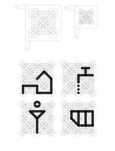UNHCR pictograms - Maxime Loiseau