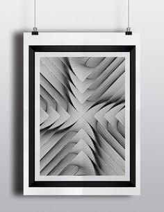 OPTICAL -ART - Técnica: Digital I (Illustrator) - Autor: Michael Andrés Medellín Rodríguez - DD1