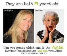 Which would you rather be when you're 73?