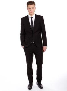 Men's Topman Blue Ultra Skinny Fit Suit Jacket, Size 46 - Blue ...