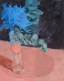 Silver Princess Gum flowers oil on linen, x 61 cm Agapanthus, Australian Artists, Still Life, Art Pieces, Gallery, Paintings, Flowers, Tuesday, Instagram