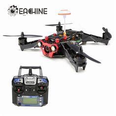 184.99$  Buy now - http://alienj.worldwells.pw/go.php?t=32741208363 - Eachine Racer 250 FPV Drone F3 NAZE32 CC3D w/ Eachine I6 2.4G 6CH Remote Control VTX OSD RTF RC Multicopter Drones