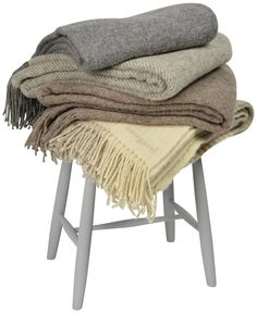 Pläd Eko-ull | Norrgavel Porches, Blanket, Bed, Home, Courtyards, Front Porches, Stream Bed, Ad Home, Porch
