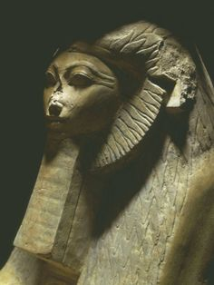 Sphinx of Hatshepsut, 1473-1458 BC, Polished Granite, 18th Dynasty.
