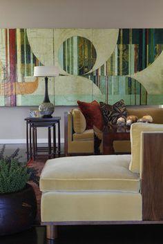 Euro Flair - contemporary - living room - hawaii - Philpotts Interiors