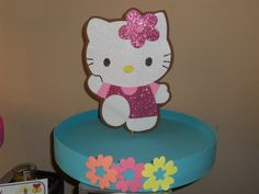 Centro de Mesa/Centerpiece Hello Kitty