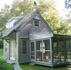 Little house, big porch, great for kids, pets, and places with mosquitoes!