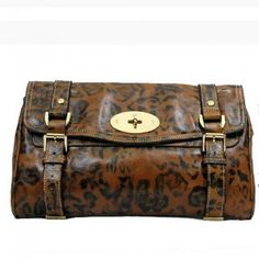 ee79872f522 Cozy Mulberry Alexa Clutch Bag Brown Leopard Mulberry Clutch Bag, Clutch  Bags, Mulberry Alexa