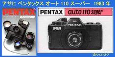 ASAHI PENTAX auto110 superボディー& 20-40mm F2.8 ZOOMレンズ付き・ 一眼レフカメラ1983年式 - ぱれっとストア ◎ Palette Store Binoculars