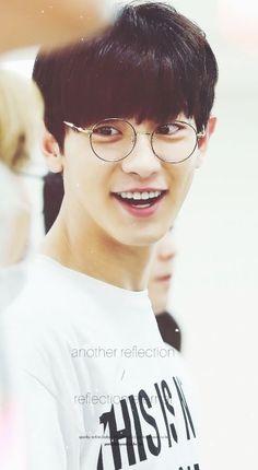 His smile #EXO CHANYEOL