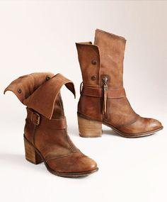 Chestnut Calf Boots