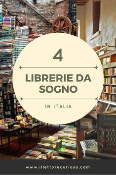 4 librerie da sogno in Italia Bookcases, Canoe, Libraries, Movie Posters, Travel, Italia, Book, Viajes, Film Poster