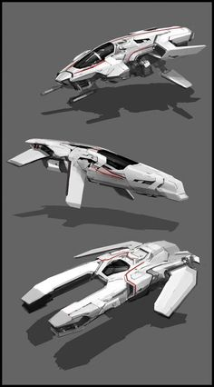 Like the space train picture, this visual is one to get students interested in the concept of turning real earth vehicles into space versions. I've had a lot of success with hesitant artists who otherwise only draw cars or planes. Spaceship Art, Spaceship Design, Arte Sci Fi, Sci Fi Art, Concept Ships, Concept Cars, Game Art, Killzone Shadow Fall, Flying Vehicles