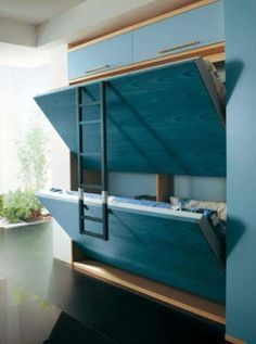 Murphy Bunk Bed Plans - WoodWorking Projects & Plans #woodworkingprojects #woodworkingplans