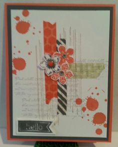 CASE from Erna Logtenberg with a few changes #Petite Petals #washi tape