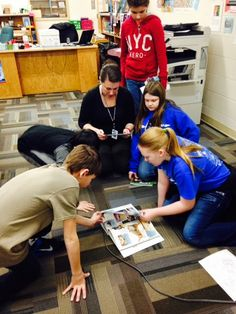 Anamosa Media Services: More pictures from Teen Tech Week